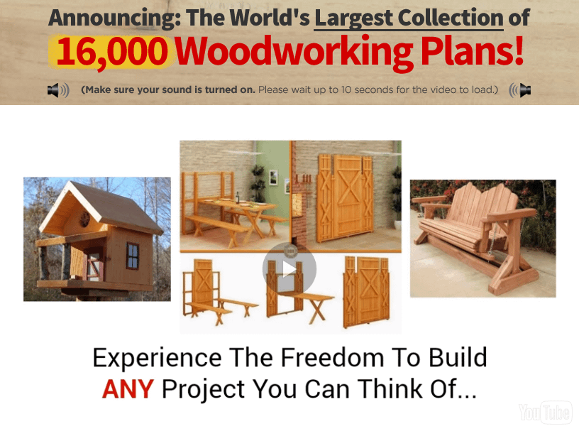 Watch Teds Woodworking Plans Video