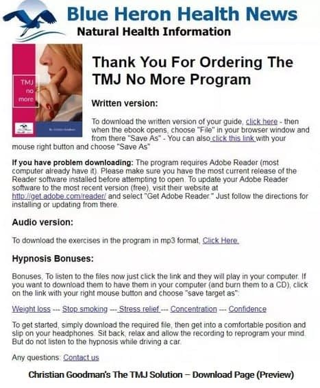 The TMJ Solution Member Area