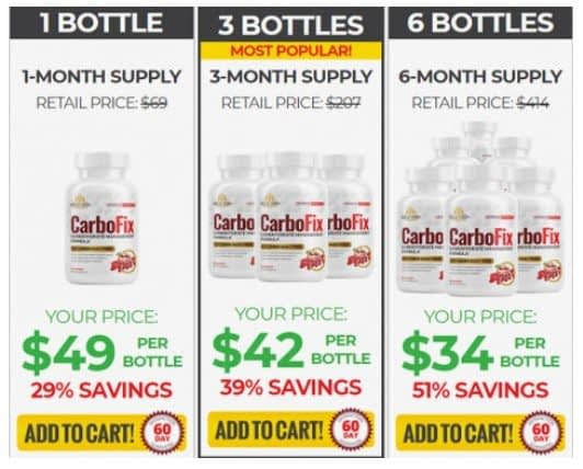 Buy CarboFix With Discount Here