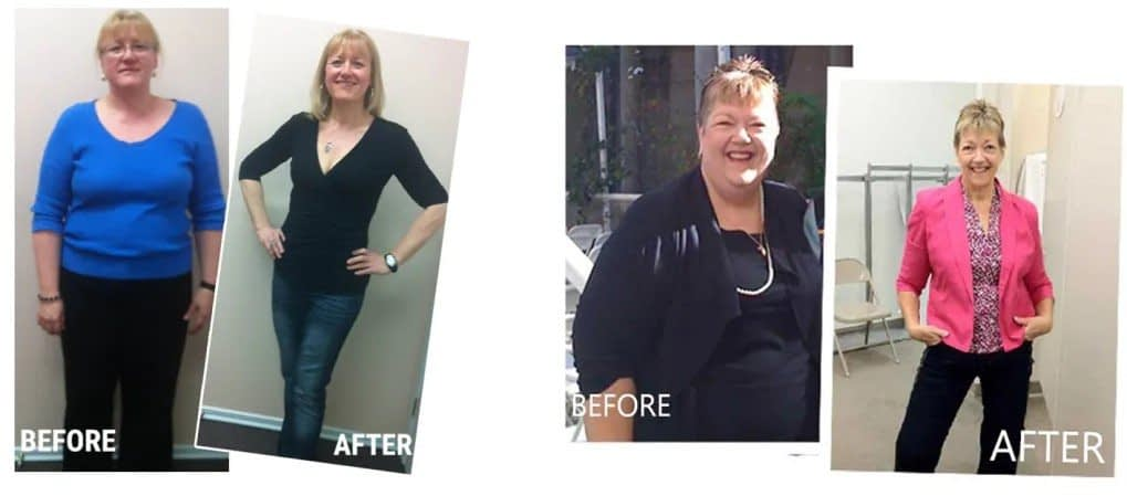 Slim Over 55 Program Before and After
