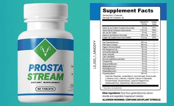 ProstaStream Ingredients