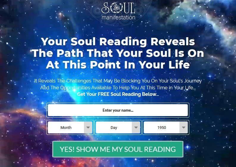Free Soul Manifestation Read
