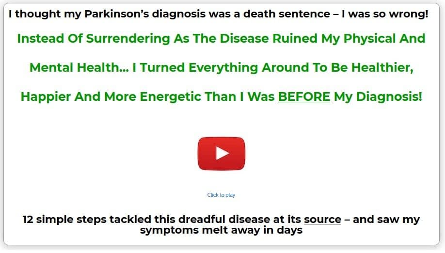 Watch The Parkinson's Protocol Video