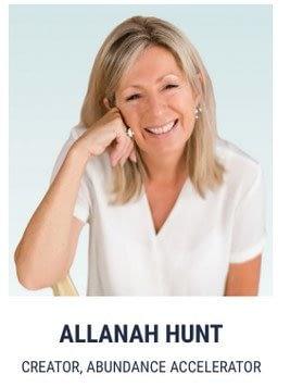 Allanah Hunt Creator of Abundance Accelerator