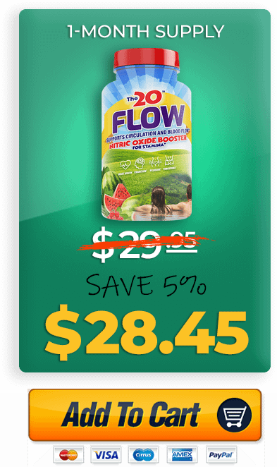 Buy The 20 Flow Nitric Oxide Booster Now