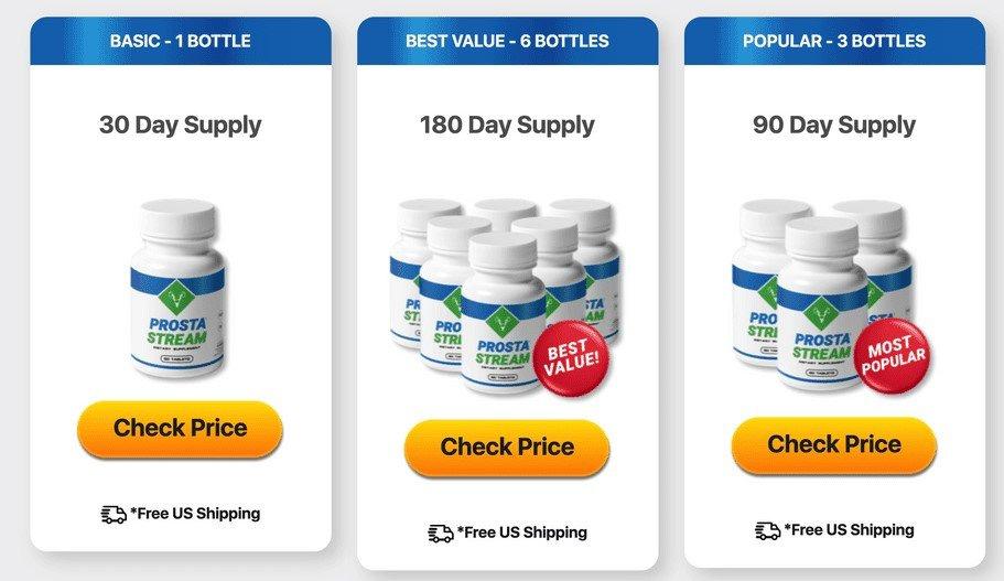 Buy ProstaStream With Discount